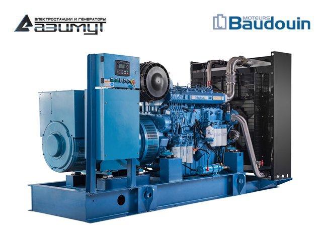 Дизель генератор АД-250С-Т400-1РМ9 Baudouin Moteurs мощностью 250 кВт