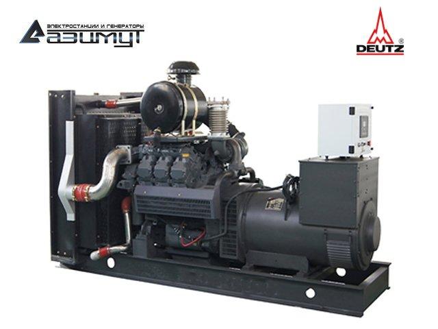 Дизельный генератор АД-250С-Т400-1РМ6C Deutz мощностью 250 кВт