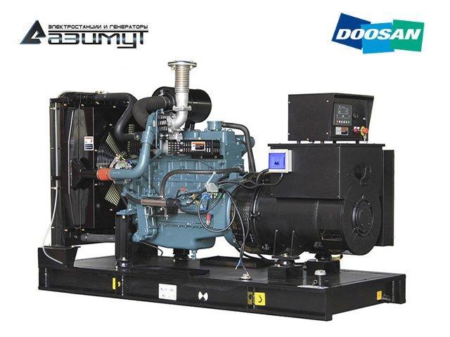 Дизель генератор АД-250С-Т400-1РМ17 Doosan мощностью 250 кВт