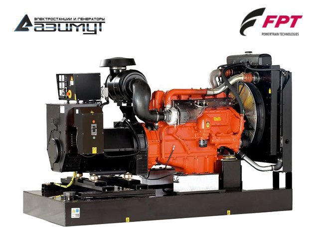 Дизельный генератор АД-250С-Т400-1РМ20 FPT (Iveco) мощностью 250 кВт