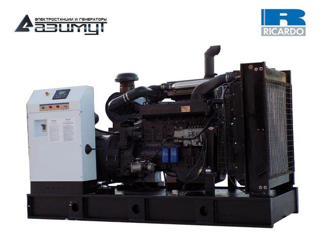 Дизельный генератор АД-250С-Т400-1РМ19 Ricardo мощностью 250 кВт